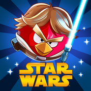 Angry birds Star Wars Square Icon