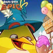 Chuck Ice Cream Epic Poster