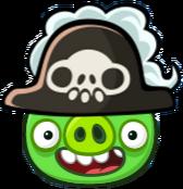 Cerdo Pirata Angry Birds Friends