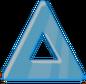 Glass Triangular Block