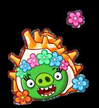 Angry Birds Fight! - Monster Pigs - Sazae Family - Sazae Girl.PNG