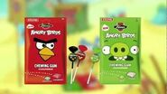 Fazer Angry Birds chewing gums & lollipops