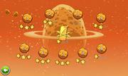 Экран выбора уровней Eggsteroids