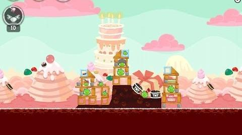 Birdday Party Cake 4 Level 5