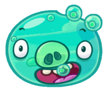 Angry Birds Fight! - Monster Pigs - Aqua Pig.PNG