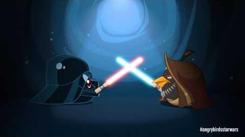 Angry Birds Star Wars Obi Wan & Darth Vader - exclusive gameplay-1