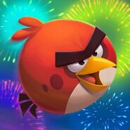 Angry Birds 2 5th birthday icon