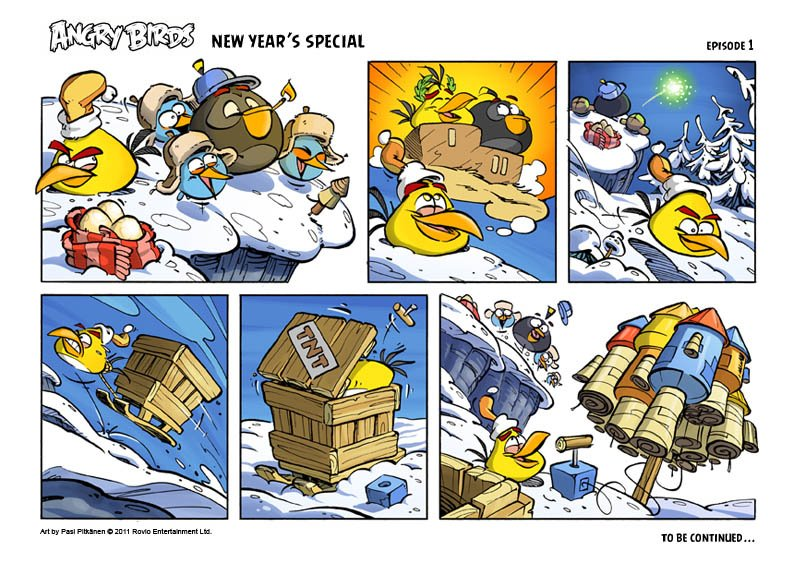 New Year's Special Comic