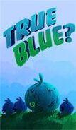 True blue title card