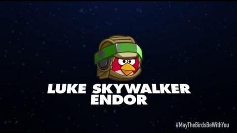 Angry Birds Star Wars 2 character reveals Luke Skywalker Endor-0