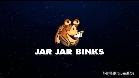 Angry Birds Star Wars 2 character reveals Jar Jar Binks