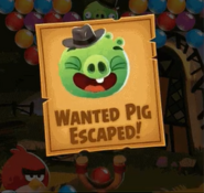 Billy the Piglet Angry Birds POP Wanted