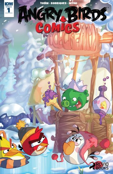 Angry Birds Comics Issue 1 (2016)
