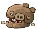 Angry Birds Fight! - Monster Pigs - Boulder Pig - Win