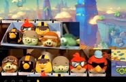 Angry Birds GO! Plushies