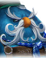 Flocker Blue Portrait 007