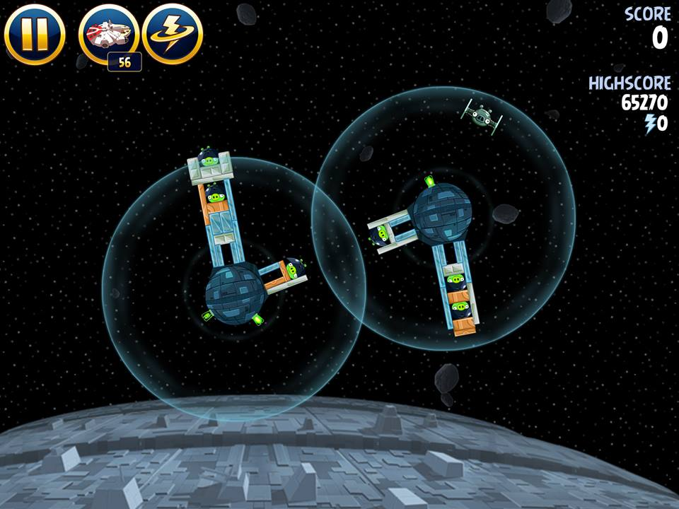 Death Star 2-10 (Angry Birds Star Wars)