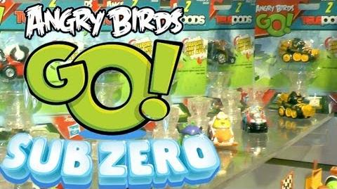 "Angry Birds Go! ""Sub Zero"" Series 2 - Karts, Characters & Snowmobiles"