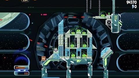 Death Star 2 6-23 (Angry Birds Star Wars)/Video Walkthrough