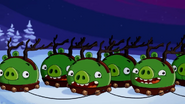 Cerdo Reno Angry Birds Toons
