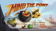 Mind The Pony Title Card
