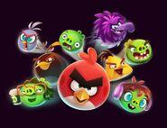 Angry Birds Reloaded Artwork 2