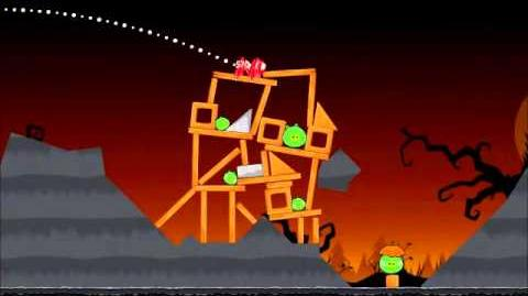 Official Angry Birds Seasons Walkthrough Trick or Treat 2-9