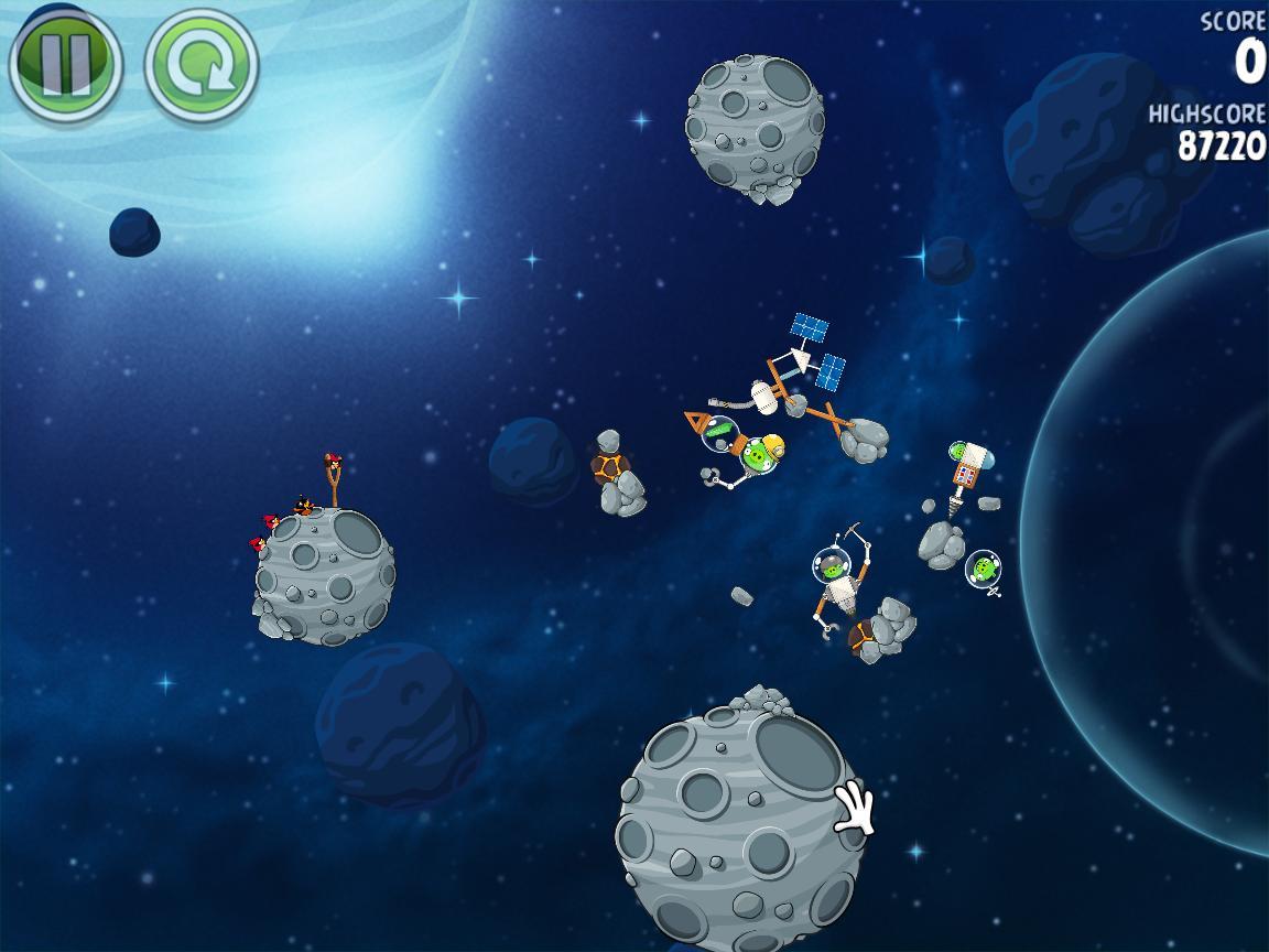 Beak Impact 8-12 (Angry Birds Space)