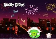 Year of the Goat Angry Birds version china