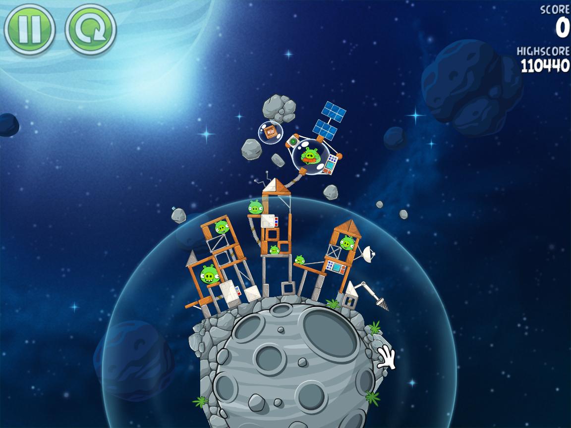 Beak Impact 8-33 (Angry Birds Space)