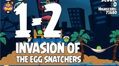 Invasion of the Egg Snatchers 1-2