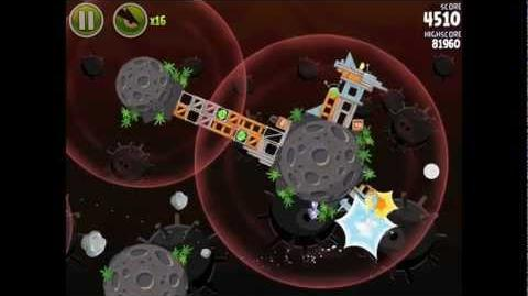 Danger Zone D-1 (Angry Birds Space)