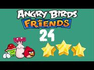 -24- Angry Birds Friends - Pig Tales - 2 birds - 3 stars