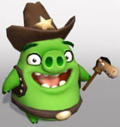 Cowboy Pigs Angry Birds Action