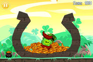 Go-green-get-lucky-golden-egg