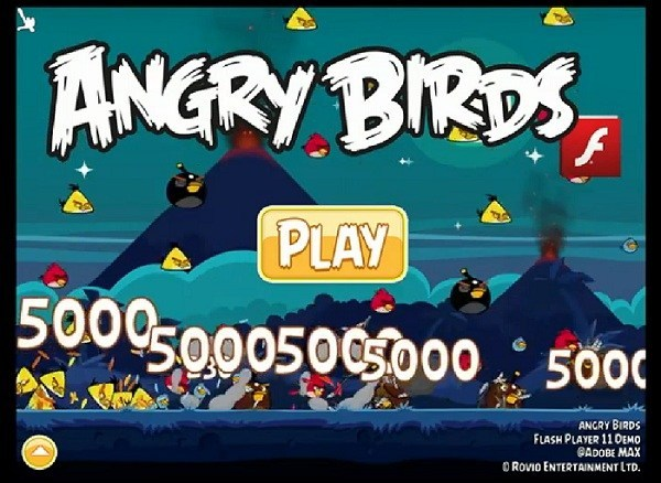 Angry Birds Flash (demo)