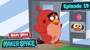 Angry Birds MakerSpace Door Cam Disaster - S1 Ep19