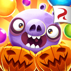 Angry Birds POP Square Icon (Halloween)