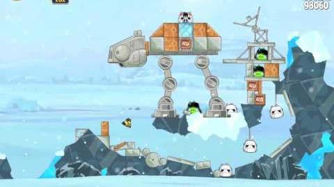 Hoth 3-16 (Angry Birds Star Wars)/Video Walkthrough