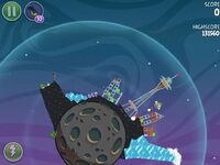 Fry Me To the Moon 3-10 (Angry Birds Space)