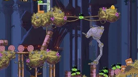 Moon of Endor 5-15 (Angry Birds Star Wars)/Video Walkthrough