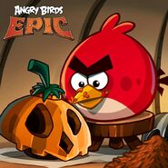 Red Halloween Epic Poster