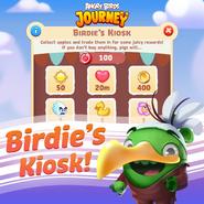 Birdie's Kiosk Anuncio