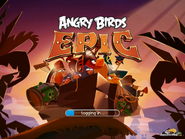 Angry birds epic first loading screen