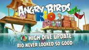 NEW Angry Birds High Dive update for Angry Birds Rio