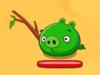 Cerdo con palo