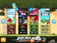 Flock Favorites on episode selection screen