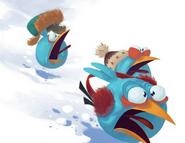 Jay Jake i Jim i śnieg