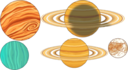 SOLAR SYSTEM THEME PARALLAX 1 LEVELS 6 10
