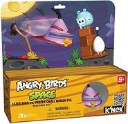 Knex lazer bird vs frozen small minion pig